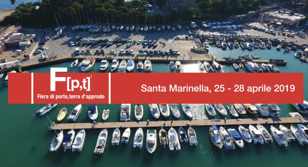 """A Santa Marinella l' esposizione NAUTICA  """"Fiera di porto, terra d'approdo"""""""