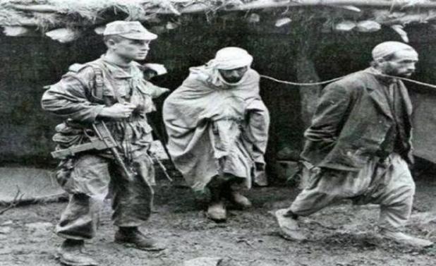 Cezayir Soykırımında Eziyet