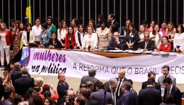 OAB quer maior representatividade feminina nos partidos políticos