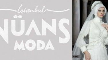 75b4306f812e0 Nüans Moda 2014 Tesettür Gelinlik Modelleri | Tesettürlü Giyim Stilleri