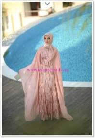 Setrms 2015 pelerinli abiye elbise