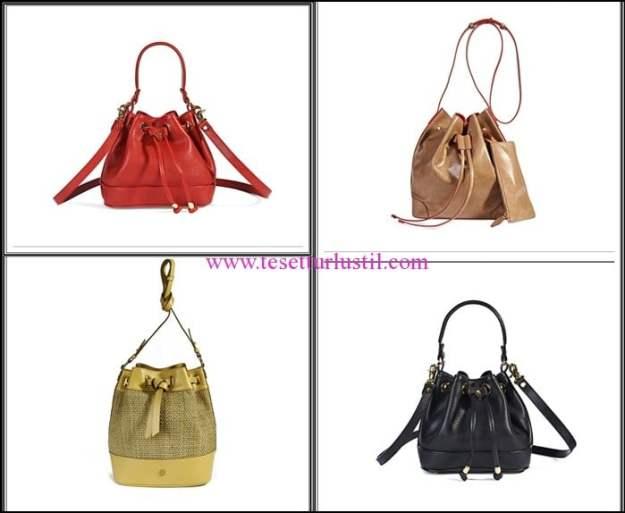 Desa 2016 yeni sezon deri bucket çanta modelleri