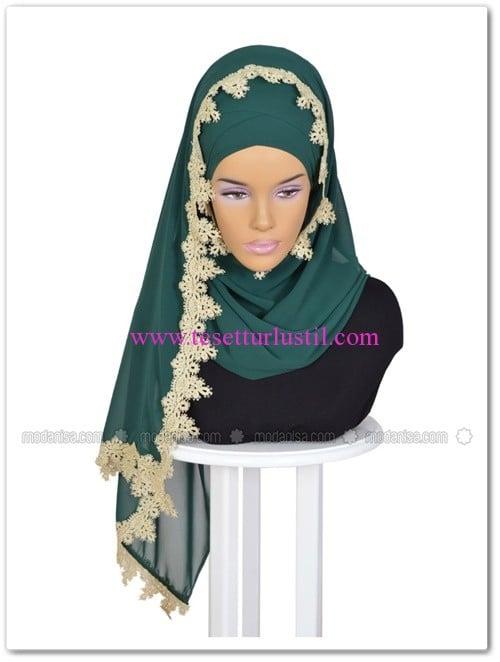 capraz-pratik-sal-dantelli-yesil-ayse-turban-tasarim
