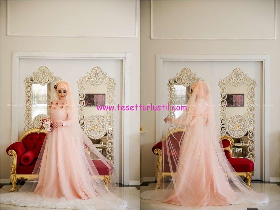 minel aşk lara somon abiye elbise