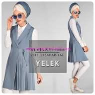 alvina 2018 new loren pileli yelek