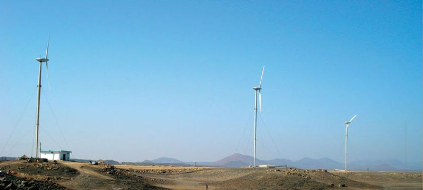 wind-powered generator project in Assab
