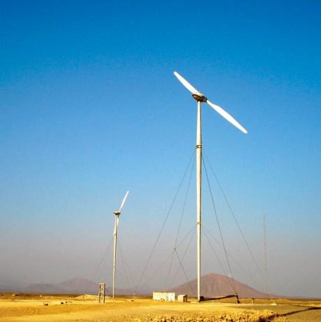 Renewable Energy. Assab wind farm project