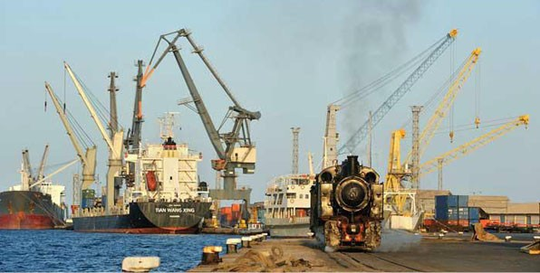Massawa Port - one of the largest and safest port on the east coast of Africa