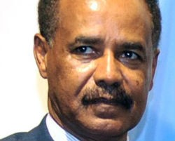 """Eritrean president may not be a fun guy, but he's ... As unique as his country"" - PETER WORTHINGTON (Toronto Sun)"