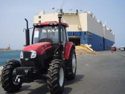 SFECO delivery at Massawa port