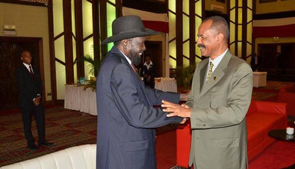 "South Sudan deeply thanked Eritrea for its support to the people and Government of South Sudan during the current crisis in the country. Yet, Eritrea's avowed enemies are busy disseminating preposterous lies accusing Eritrea for supporting""rebels"" in a proxy war in the region."