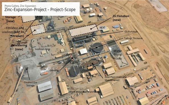 Bisha Zinc Expansion Project (Project Scope View)