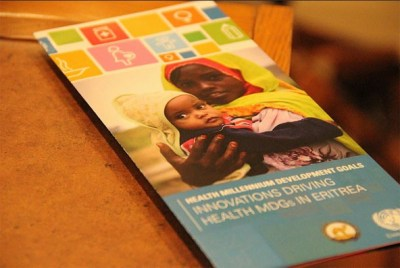 A UN panel witnessing Eritrea's Health Millennium Development Goals Successes