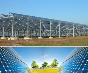 A photovoltaic system employs solar panels composed of a number of solar cells to supply usable solar power.
