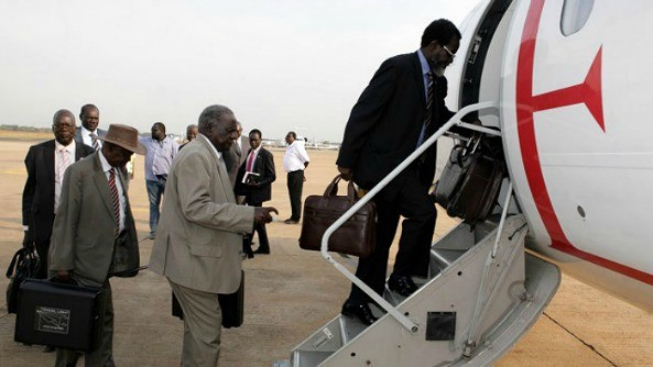 """IGAD Under Ethiopian Chairmanship is Playing Unhelpful Game. """"Whenever we are about to reach a peace deal, IGAD imposes recess and holidays,... [more delays]"""" - President Salve Kiir"""