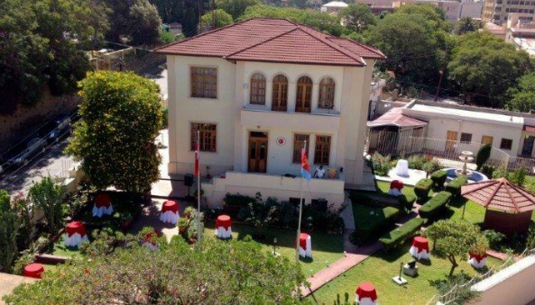 Exclusive. Celebrating the 91th anniversary of the founding of the Republic of Turkey and the 1st anniversary of the opening of Turkish Embassy in Asmara