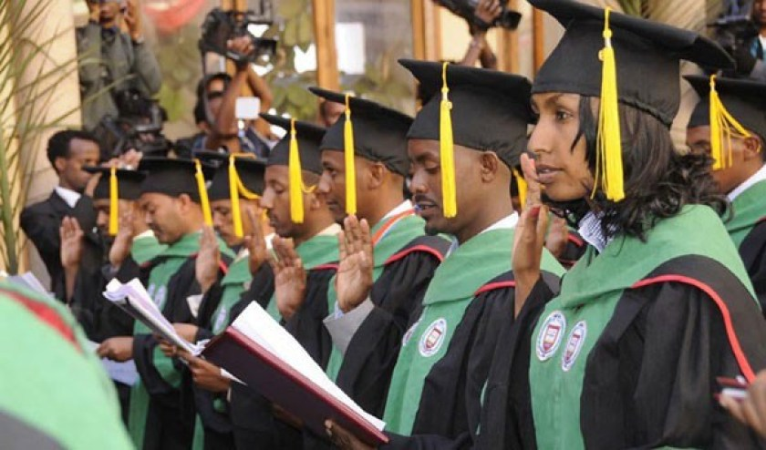 Medical Doctors graduation at Orotta School of Medicine