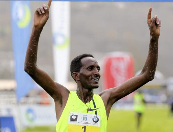 Teklemariam Medhin Becomes the First Runner in 47 Years to Score Three Wins in the San Sebastian Cross Country Race