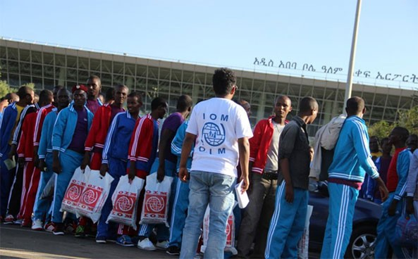 Tanzania and Yemen are the major transit countries for Ethiopian migrants seeking jobs in South Africa and Saudi Arabia