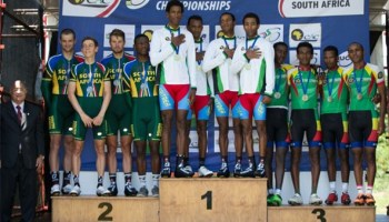 Five Years in Row Eritrea Wins African Continental Championships 2015 - TTT