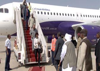 Inaugural flight to Port Sudan