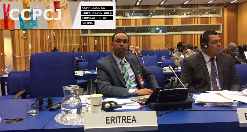 the 24th Session of the UN Commission on Crime Prevention and Criminal Justice conference