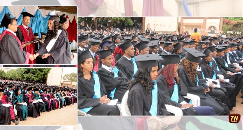Asmara College of Health Science Graduates 416 Students