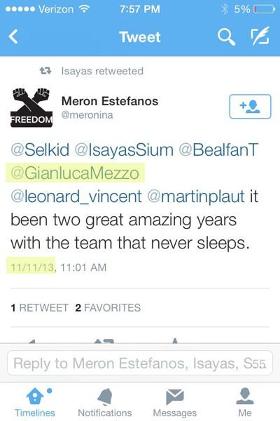 Gianluca Mezzofiore of IBTimes UK never sleeps
