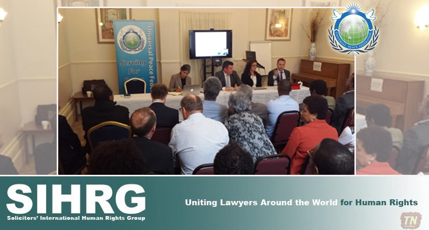 SIHRG and UPF discussed key issues facing Eritrea from the development of its natural resources through to migration and trafficking.