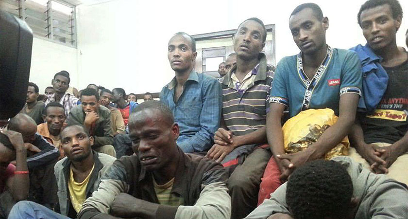 Ethiopian Migrants Plunge Kenyan Local Prisons into Serious Debt