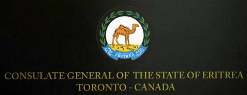 Eritrea's new Consul General to Canada present Credentials