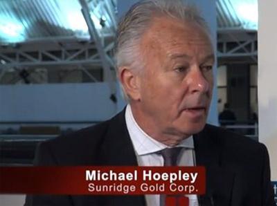 Michael Hopley, President and CEO of Sunridge