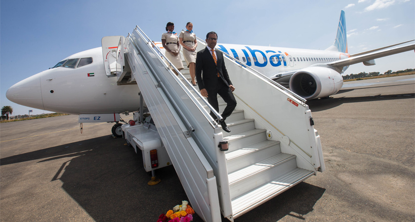 flydubai flights to Eritrea
