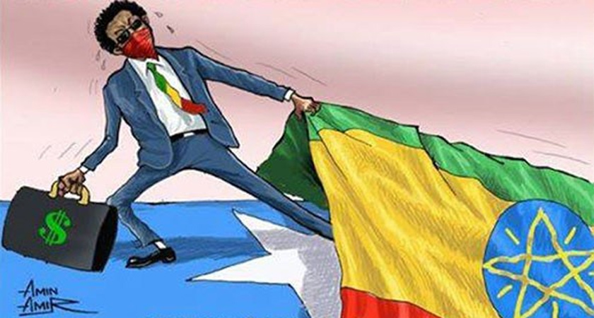 Somalia will not be able to assert itself and prosper until Ethiopia stops meddling in its affairs.