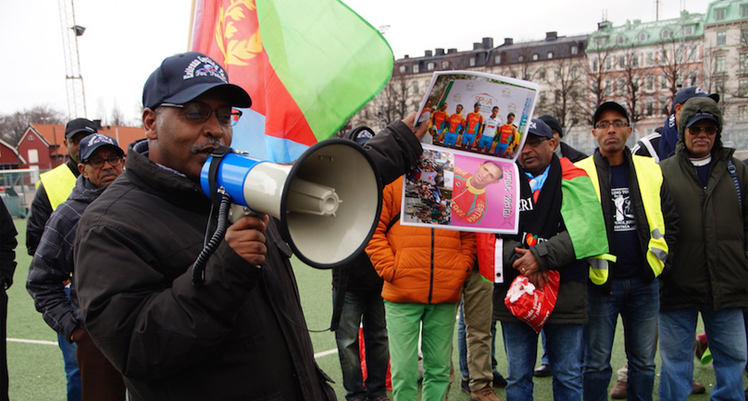 Eritrean cyclists for peace - rights