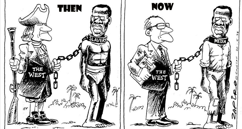 Neocolonialism and the corporate media against Africa