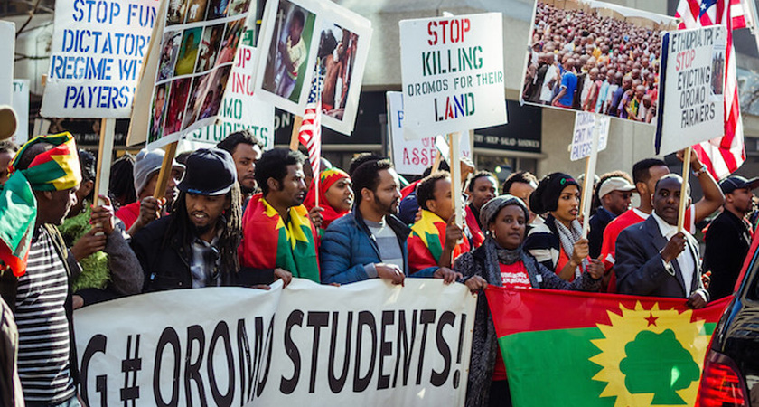 oromo-students-protest