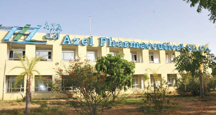 Azel Meets 45% of Eritrea's Pharmaceutical Demand