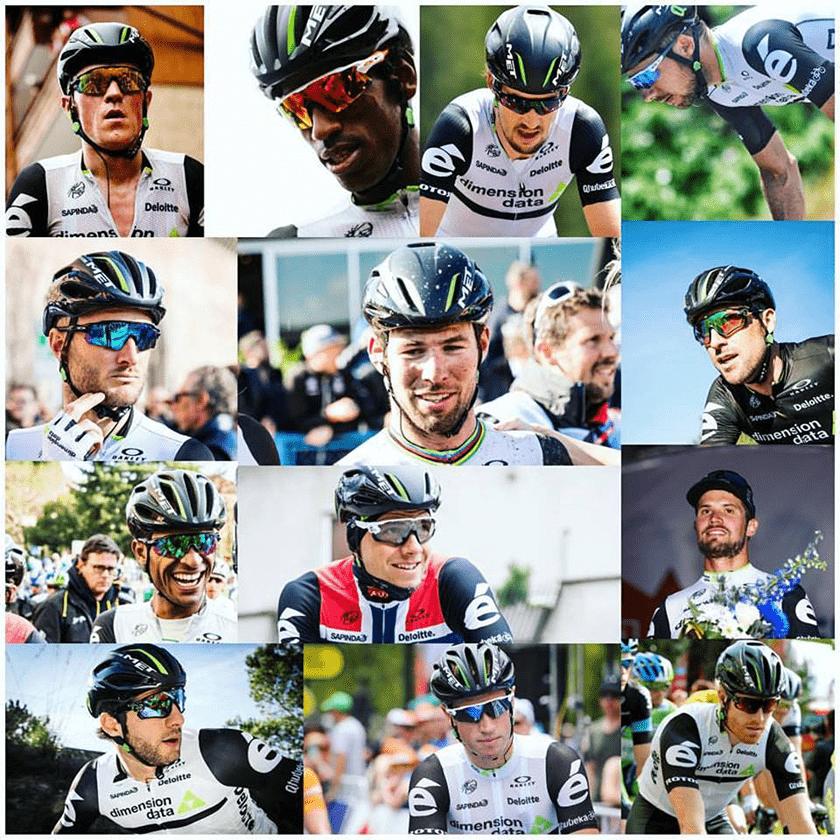 team-dimension data Tour de France list