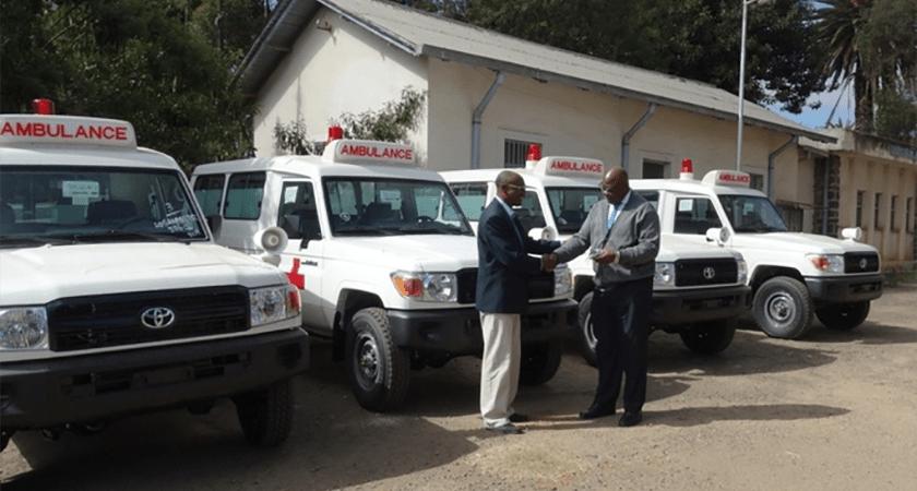 UNFPA Donates New Ambulances to Eritrea