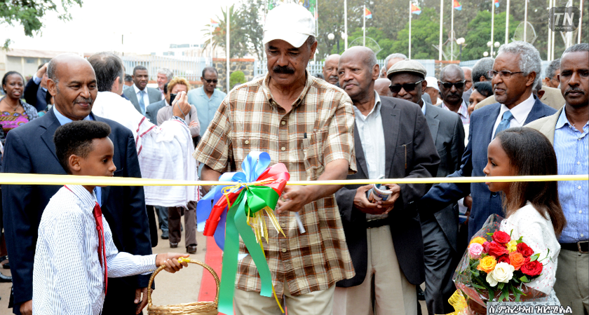 President Isaias Officially Opens Eritrean National Festival 2016