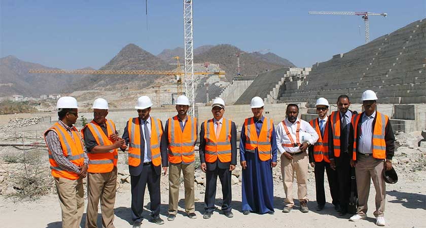 Amid Strained Relations with Egypt, Saudi Official Visited Ethiopian Renaissance Dam