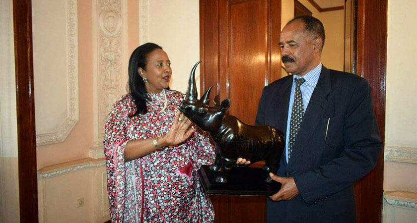 Amina Mohamed for African Union Commission