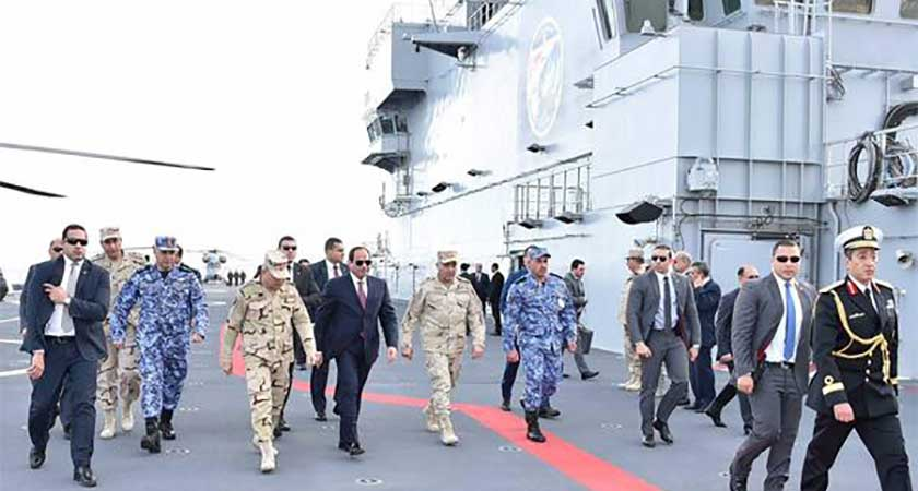 Egypt navy inaugurates Southern Fleet Command