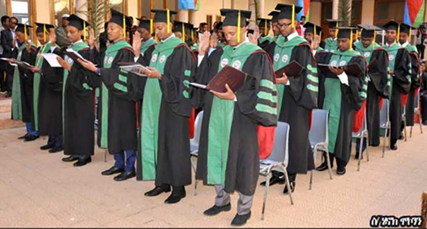 Orotta School of Medicine and Dentistry Graduates 677 Students