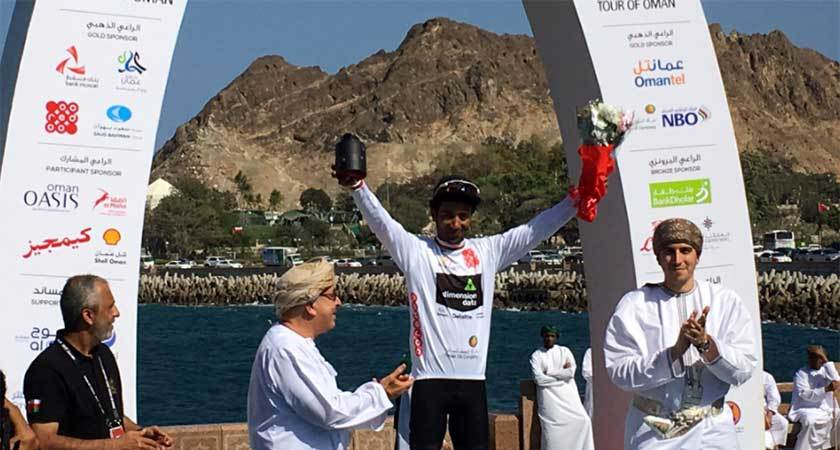 Tour of Oman: Merhawi Kudus Wins White Jersey