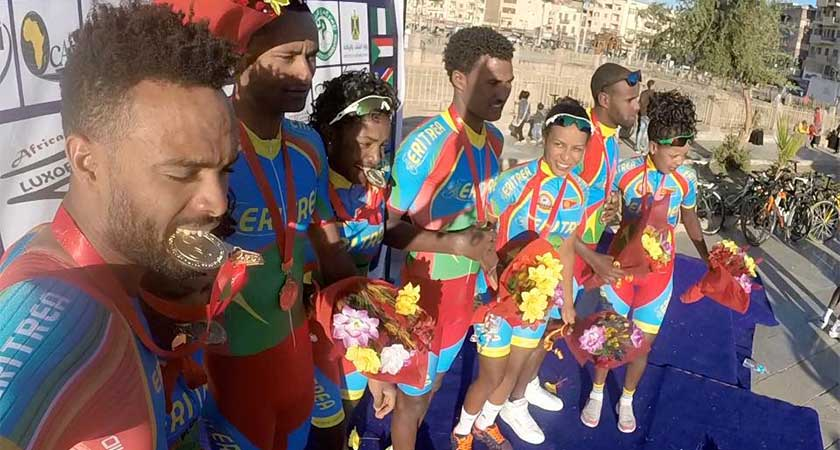 2017 African Continental Championships: Eritrea Wins Men and Women Elite TTT