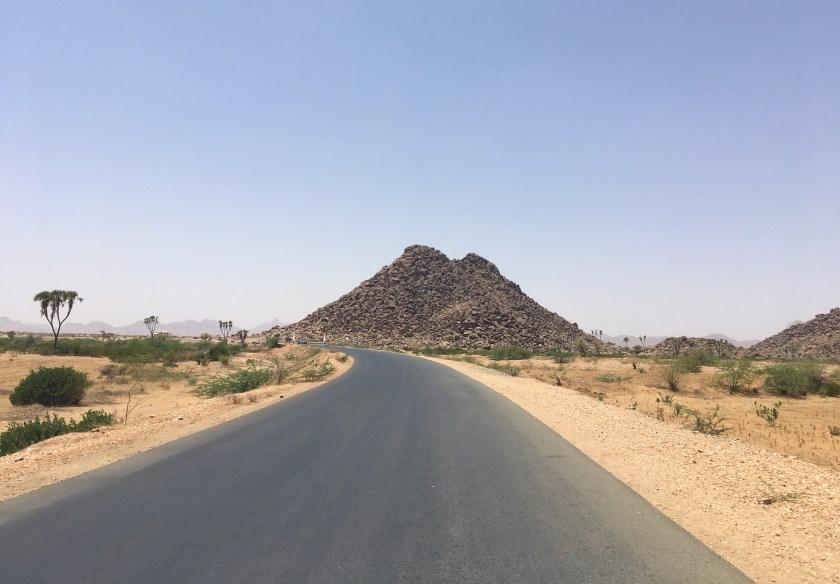 Tesseney - Asmara road