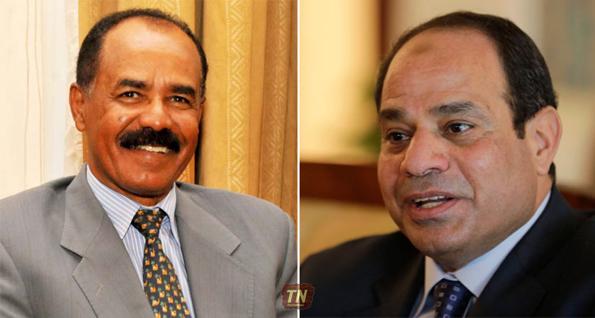 """""""We Must Strengthen the Multi-Dimensional Cooperation Between Eritrea and Egypt Further"""""""