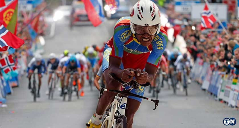 Eritrea's Awet Habtom Voted Most Aggressive U23 Rider at Bergen 2017